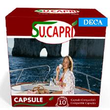 Scopri le capsule gusto decaffeinato!
